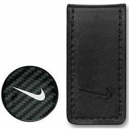 Nike Golf Pocket Money Clip and Ball Marker N71451 Black/Whi