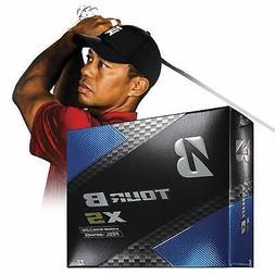 Bridgestone Golf Tour B XS Golf Balls White  One Dozen - 760