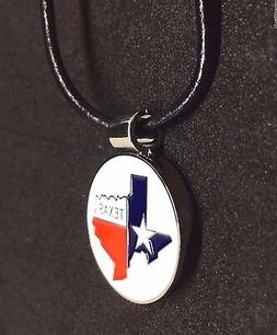 Golfer's Magnetic Golf Ball Marker Necklace - Texas State Ma