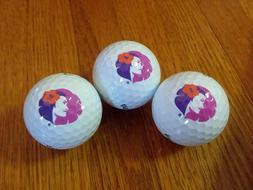 Hawaiian Airlines Logo Callaway Golf Balls ~ 1 Sleeve ~ 3 Ba