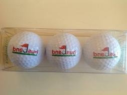 Husband. Golf Ball Gift Set. Great for Father's Day. Brand N