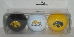 EnjoyLife Inc. Iowa Hawkeyes Golf Ball Gift Set NIP
