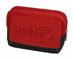 Titleist Japan Golf Round Cotton Pouch Ball Bag AJPCH73 Red