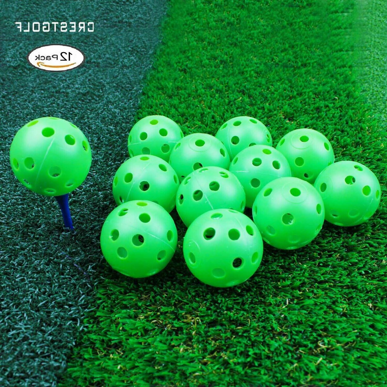 Crestgolf Plastic Airflow Balls Balls pack