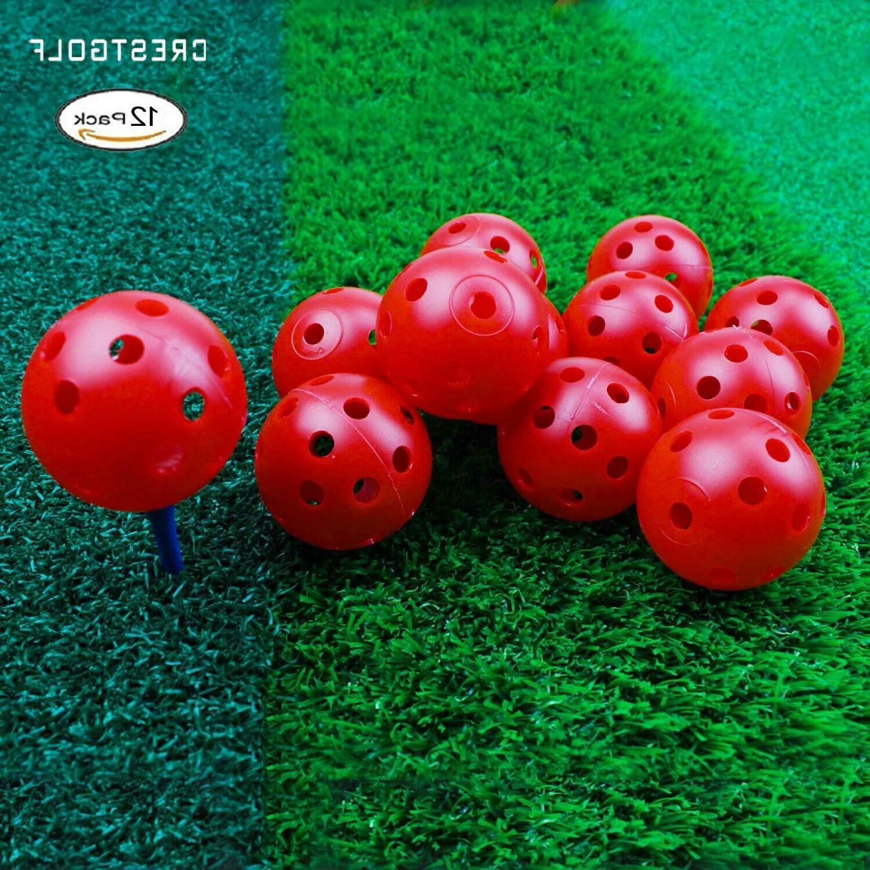 Crestgolf Plastic Airflow Balls Practice Balls pack