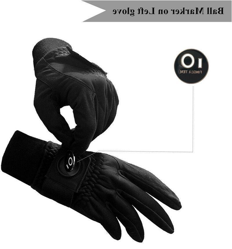 2020 Finger Mens Raingrip - Wet Weather Ball Marker