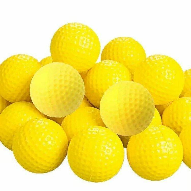 24 Golf Balls Practice PU Indoor Outdoor Training Chip Drive