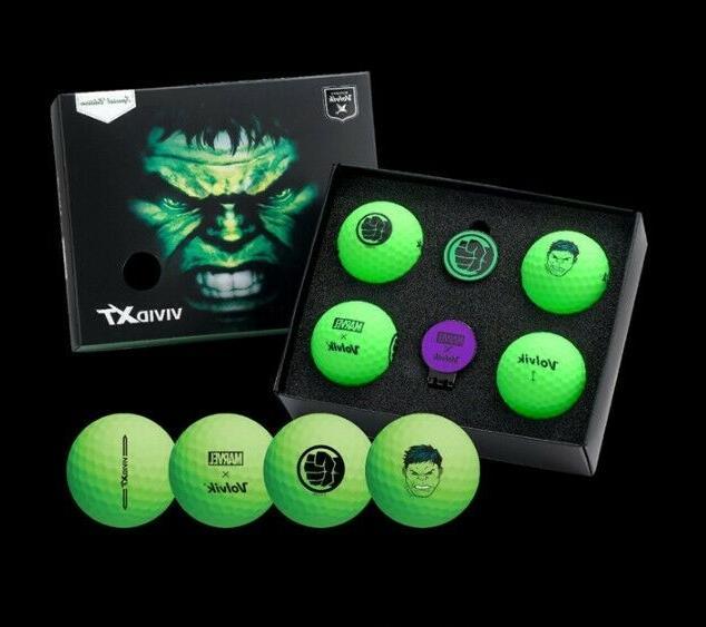 4PCS Hulk VAGS Marvel Balls 2 Markers