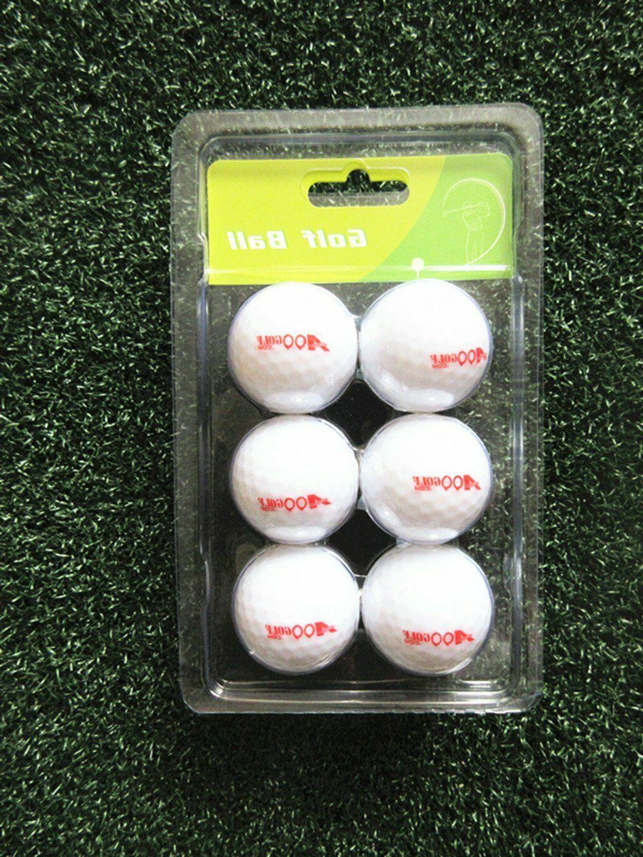 6 A99 Twilight Light-up Multi-color Flashing Golf Balls