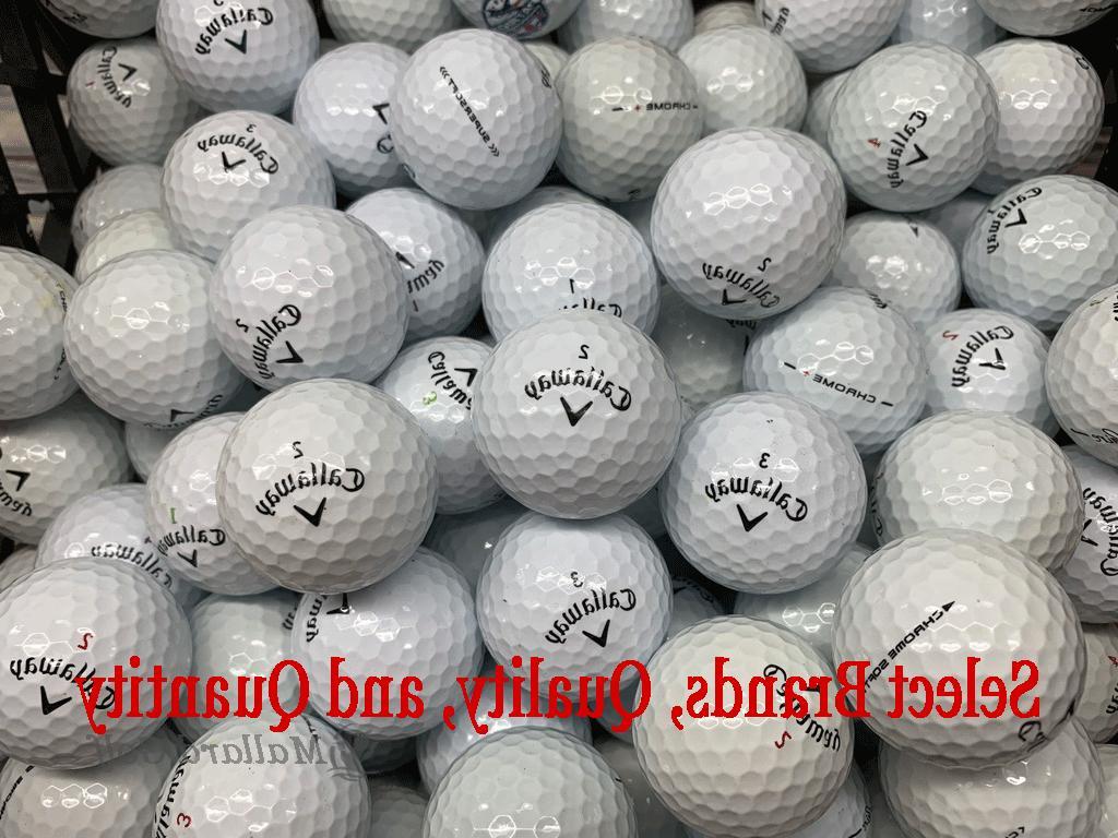 aaa aaaaa mint condition used golf balls