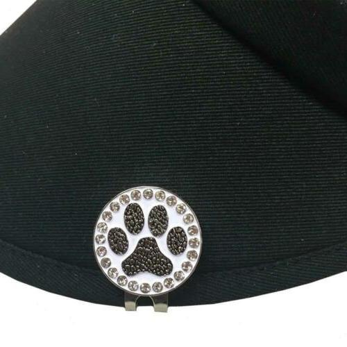 Giggle Paw Print A Standard Hat Clip