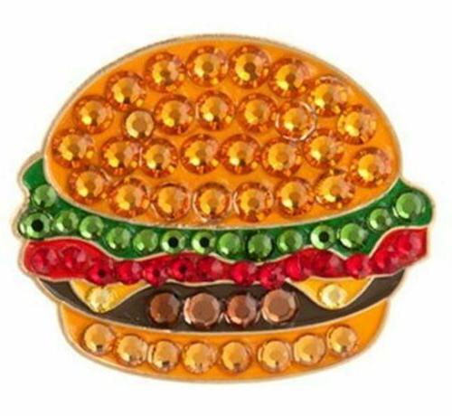 burger swarovski crystal ball marker