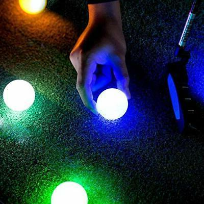 Crestgolf Ball,Night Glow up LED Golf