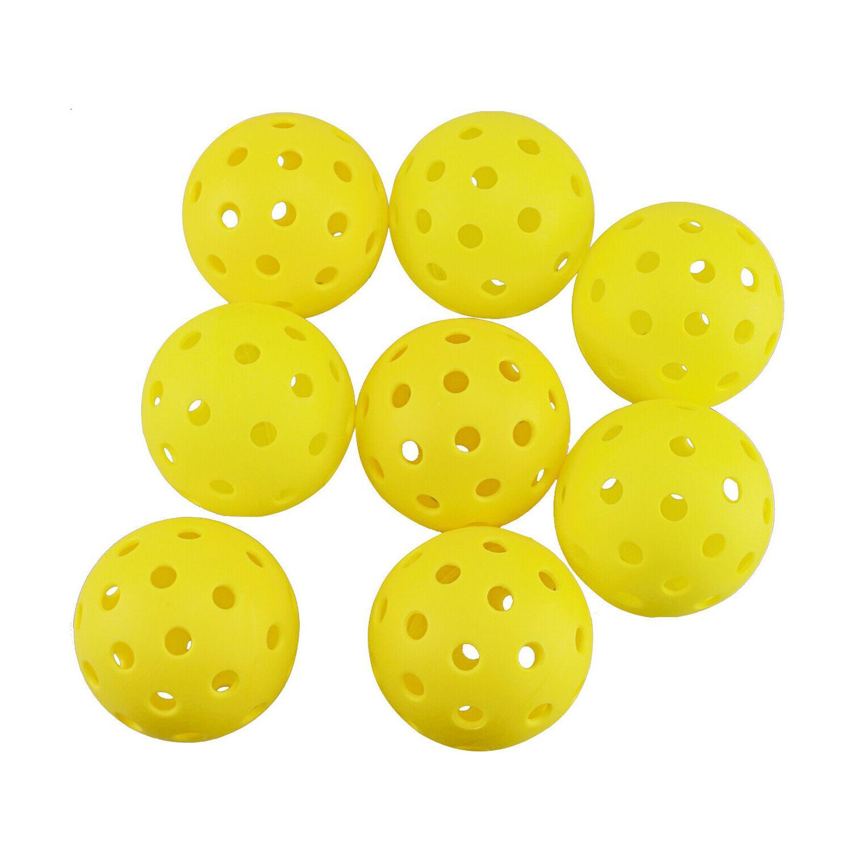 Crestgolf Balls plastic ball floorball 26 Holes Outdoor