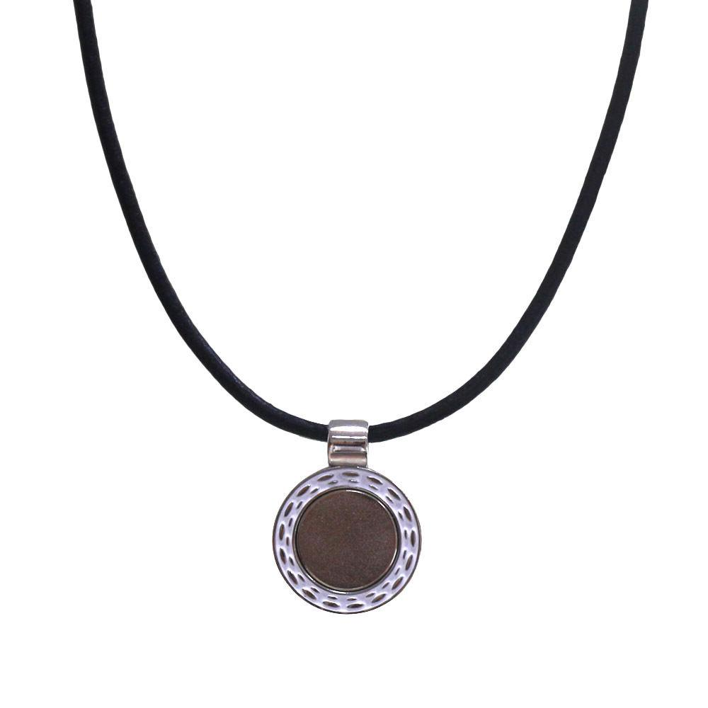 Crystal charm Ball Marker Magnetic Necklace