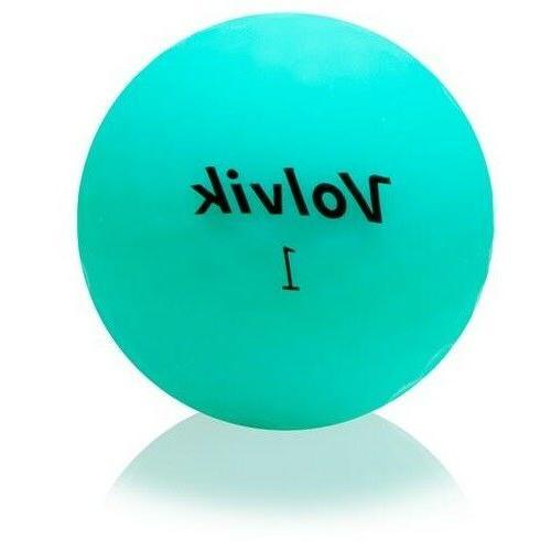 Volvik Golf Low VIVID Jade Mint 3 NEW