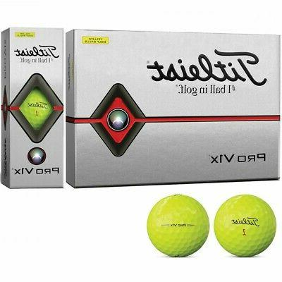 Titleist golf ball 2019 Pro V1X low number yellow unisex T21