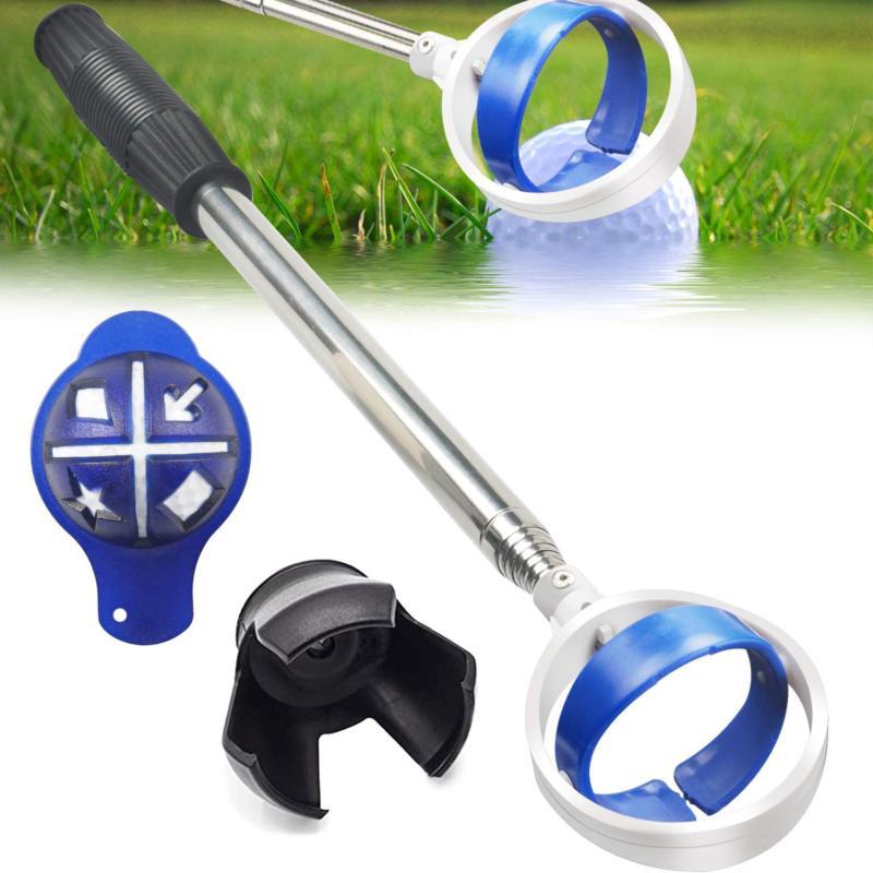 Golf Ball Retriever, Extendable Golf Ball Retriever For Wate
