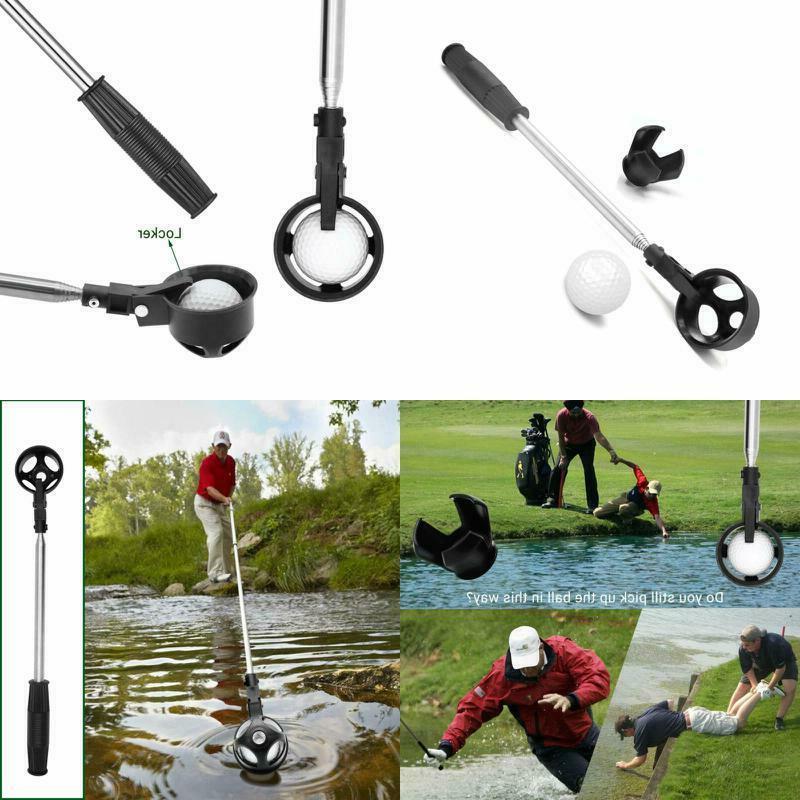 golf ball retriever stainless telescopic extendable golfball