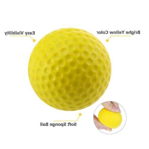 Golf Balls Sponge 12 Count Practice Finger Stock