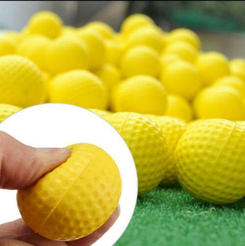 Golf Foam 12 Count Practice Ten Stock