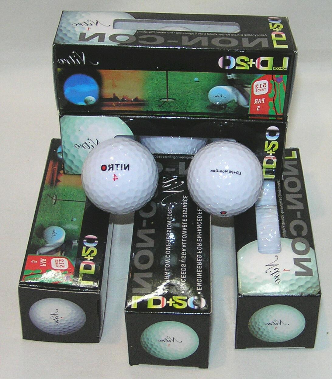 Nitro LD+20 Golf Balls