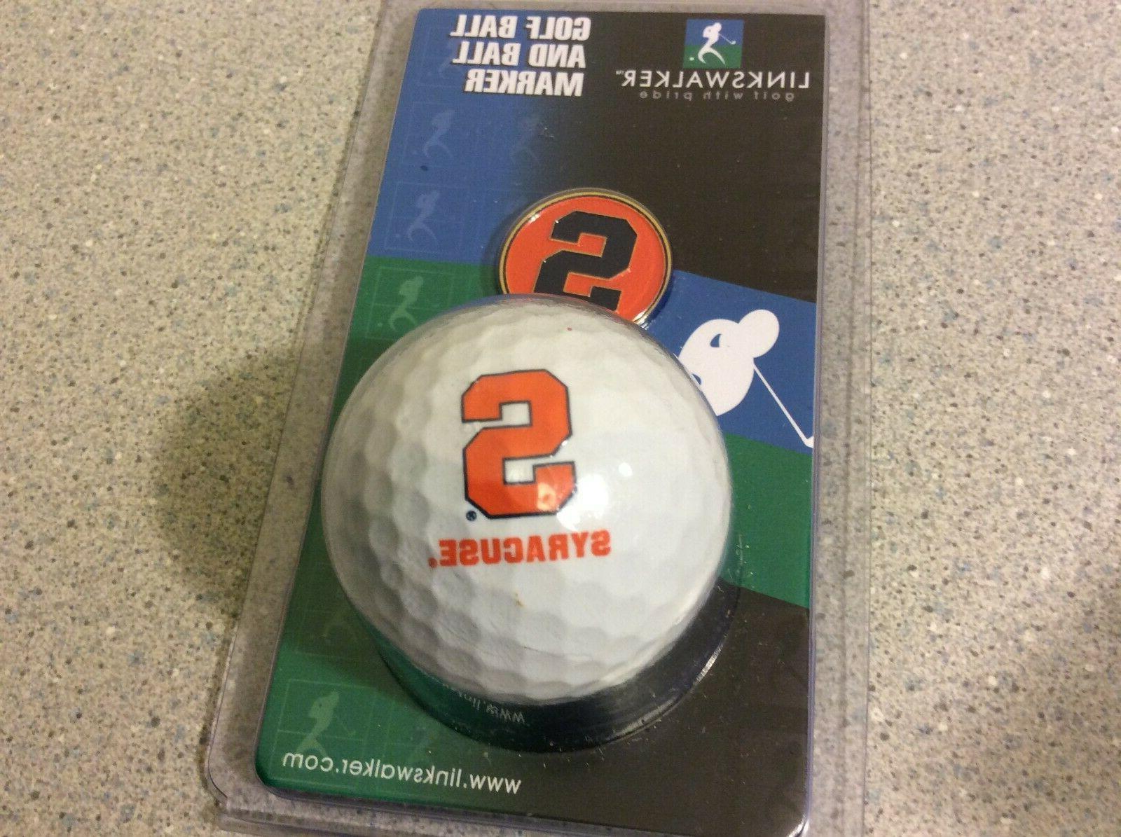 Lot Golf Marker Syracuse Orange