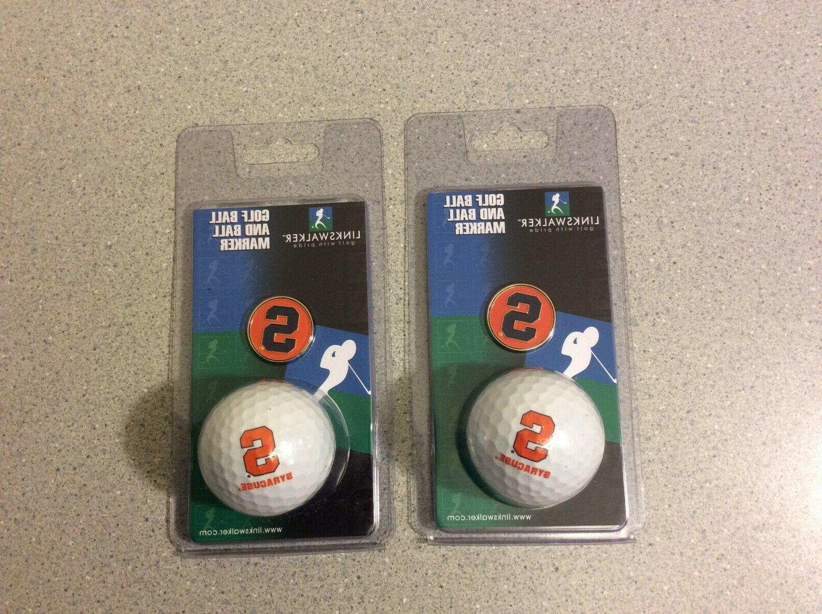 lot of 2 golf ball and ball