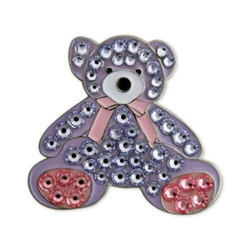 mama bear swarovski crystal ball marker
