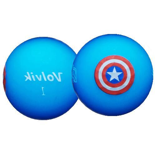 Volvik Golf Balls Man Captain America Thor