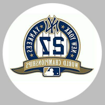 n y yankees 27 chamiponships ball marker