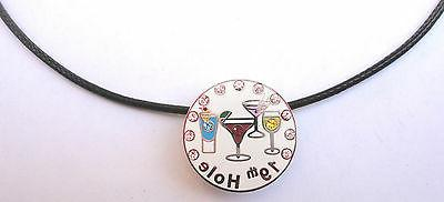 Necklace Crystal 19th Hole & Magnetic