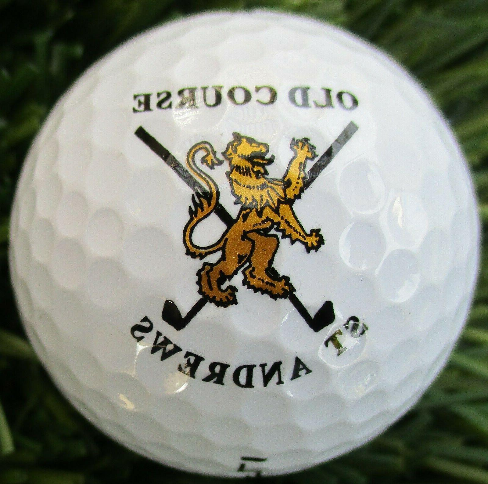 new logo golf ball old st andrews