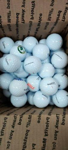 New Lot Of 50 Titleist Velocity Logo Overrun Balls NEW BALLS