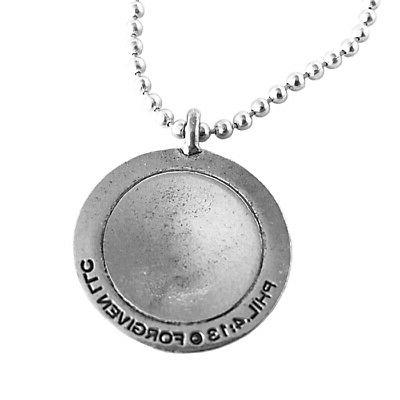 Phil 4:13 Golf Necklace