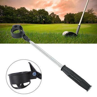 Telescopic Golf Ball Pick Retriever Scoop USA STOCK