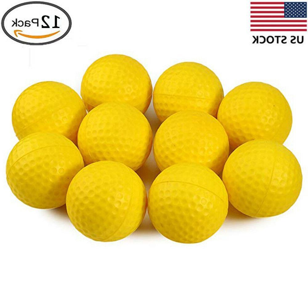 Crestgolf 12 pcs/pack Golf Foam Sponge Practice Indoor & Out