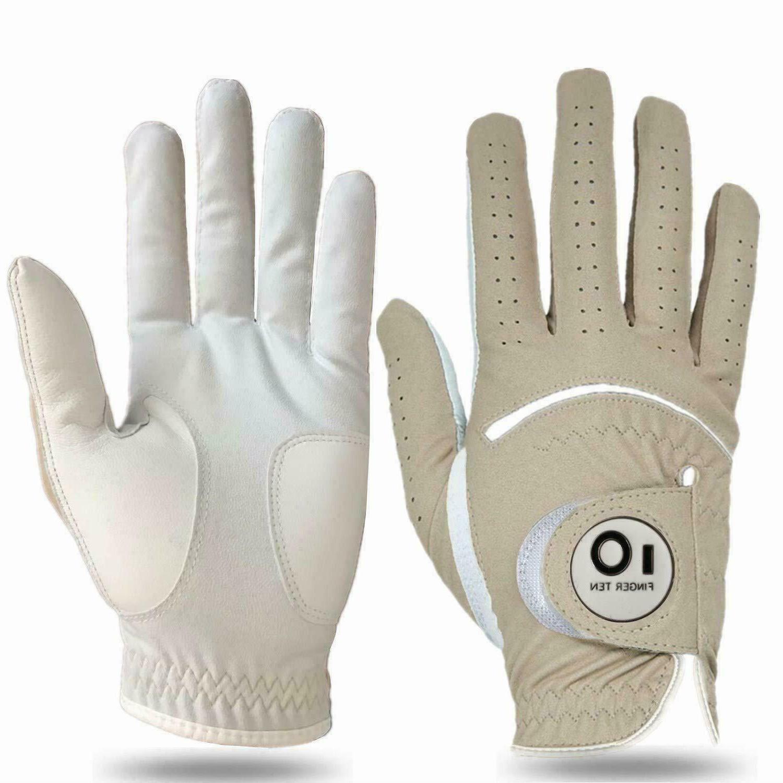 PU Golf Mens 1/2 Pack RH Finger Ten US