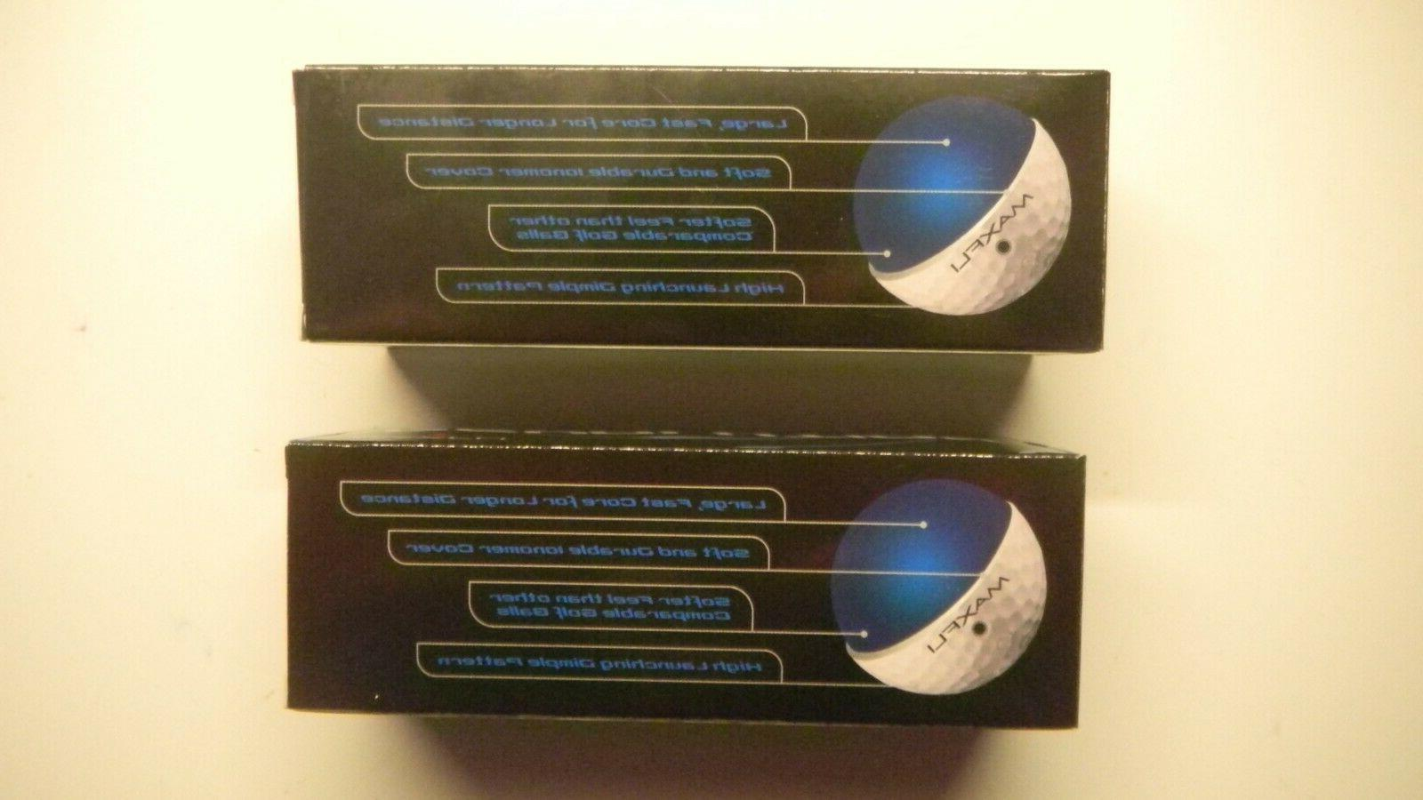 MAXFLI Revolution Distance Balls Sleeves - Balls NEW