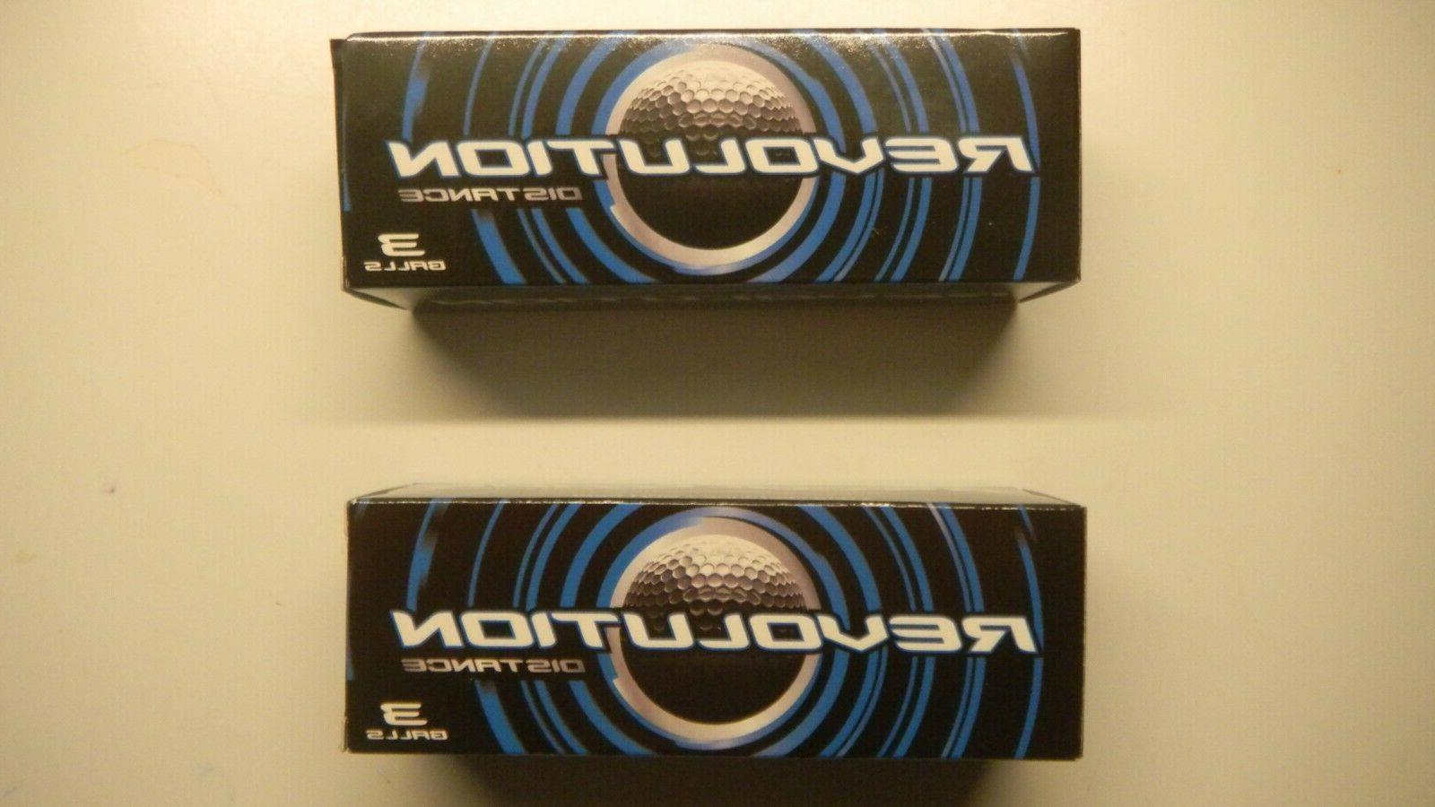 revolution distance golf balls 2 sleeves 6