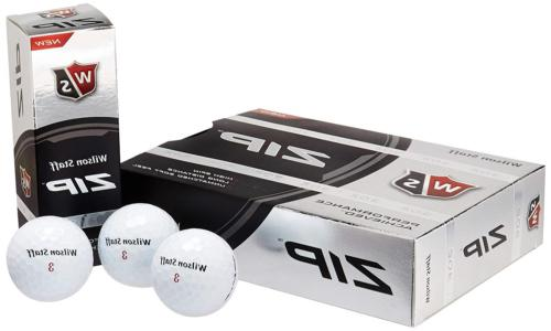 Wilson Staff Zip Golf Balls 24-Ball Pack White