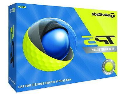 tp5 yellow golf balls 3 dozen new