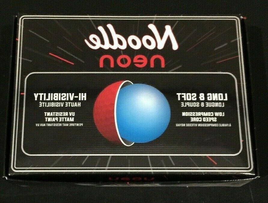 Two Neon Balls - Matte Red