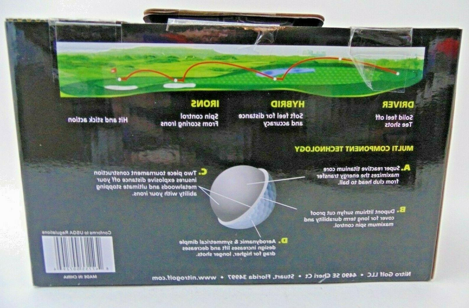 Nitro Balls Box of 45