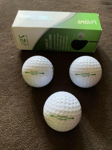 Polara Ultimate Golf Balls Self-Correcting Technology. Of