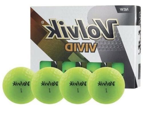 vivid golf balls one dozen 12 pack