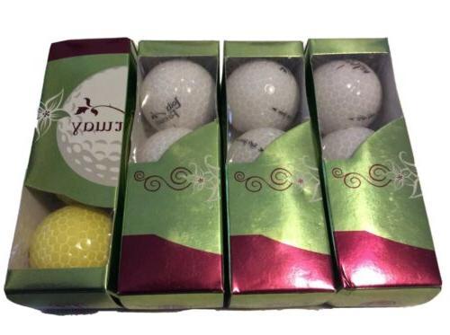 womens golf balls lot of 4 3