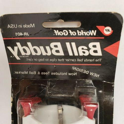 World Of Buddy Ball Clips to Bag JEF Made in