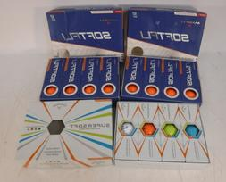 Maxfli Softfli Matte Orange Finish 2 Boxes & Callaway Supers