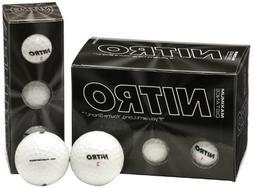 Nitro Maximum Distance Golf Ball , White
